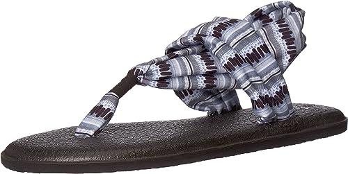 Sanuk Womens Yoga Sling 2 Print Vintage Sandal