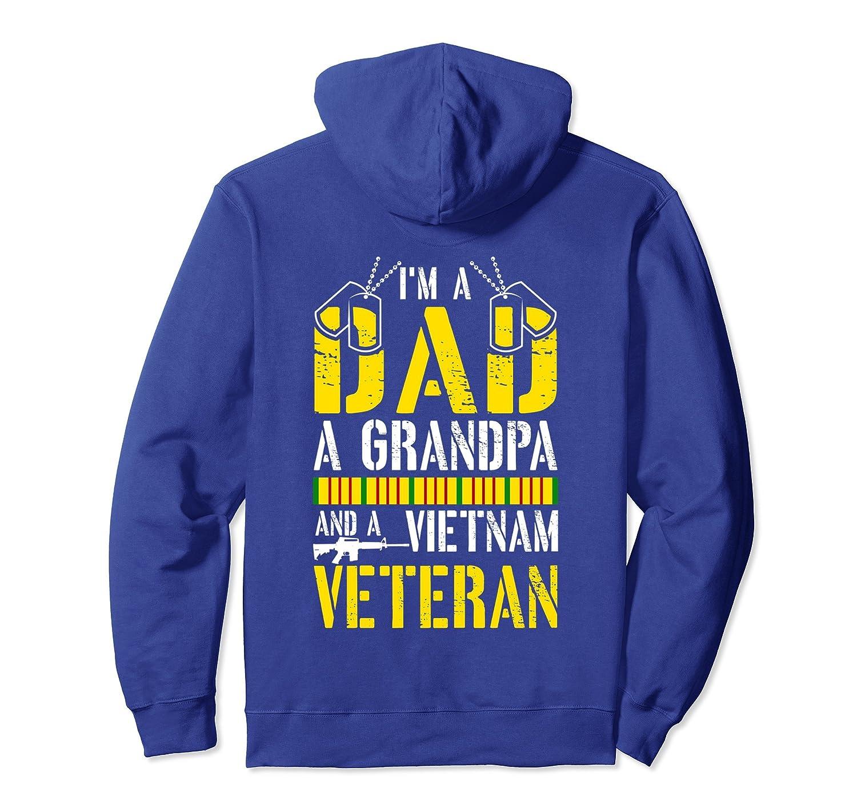 7d67ac944 I'M A DAD A GRANDPA AND A VIETNAM VETERAN proud gift Hoodie – Paramatee