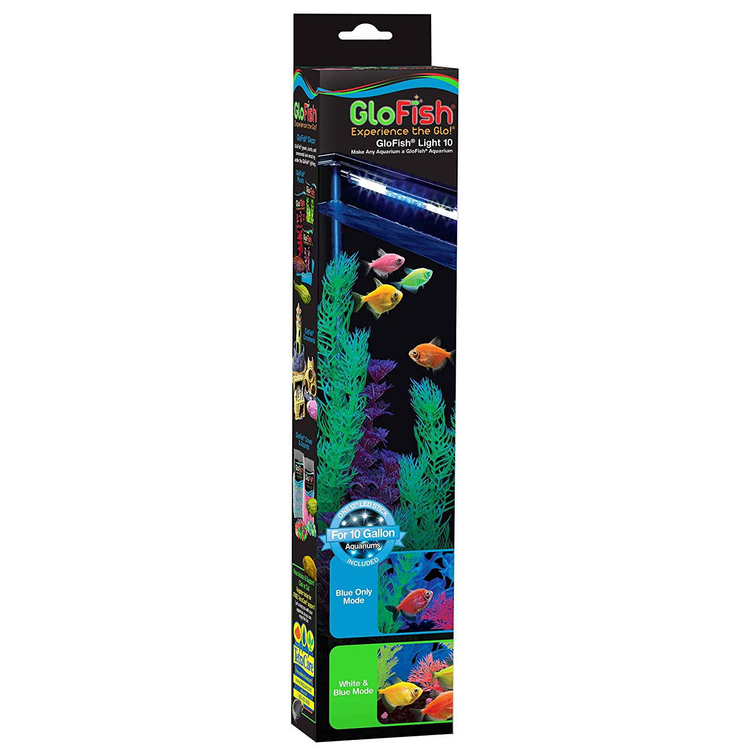 Amazon GloFish Blue & White LED Stick Light For 10 Gallon
