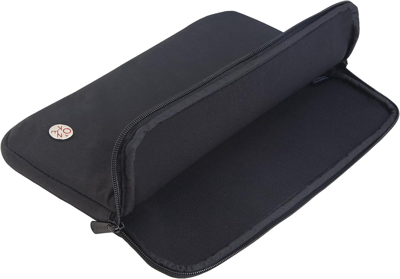 Token Bags Crosstown 11 Inch Laptop Sleeve One Size Wax Black