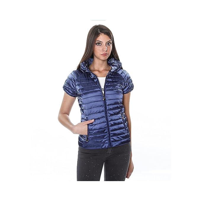 online retailer 5e076 afb4f Montoro Abbigliamento Piumino 100 Grammi con Maniche Corte - Donna