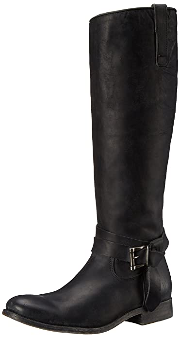 Amazon.com | FRYE Women's Melissa Knotted Tall Riding Boot | Knee-High