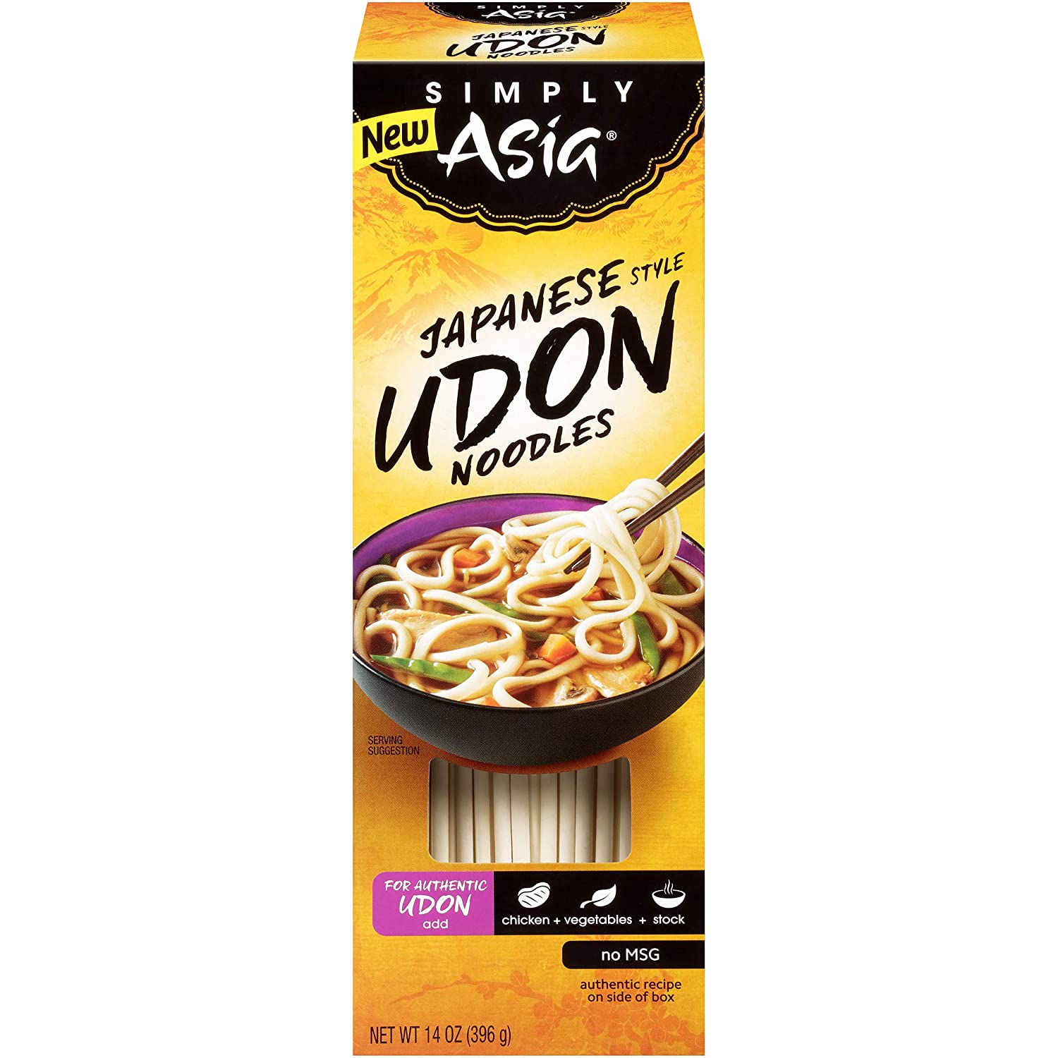 Simply Asia Japanese Style Udon Noodles, 14 oz Pack of 6