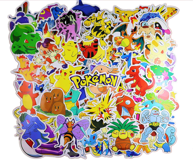 Cartoon Stickers Pack 160pcs, Anime Vinyl Sticker for Nintendo Switch Laptop Water Bottle Bike Car Motorcycle Bumper Luggage Skateboard Graffiti, Cute Animals Decals, Best Gift for Kids,Children