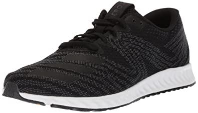 watch 84322 3df7a adidas Men s Aerobounce pr m Running Shoe, core Black Metallic Silver White,