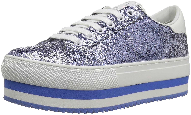 Marc Jacobs Women's Grand Platform Lace up Sneaker B0733C5KFN 38 M EU (8 US)|Blue/Multi