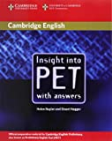 Insight into PET Student's Book without Answers (Cambridge Books for Cambridge Exams)