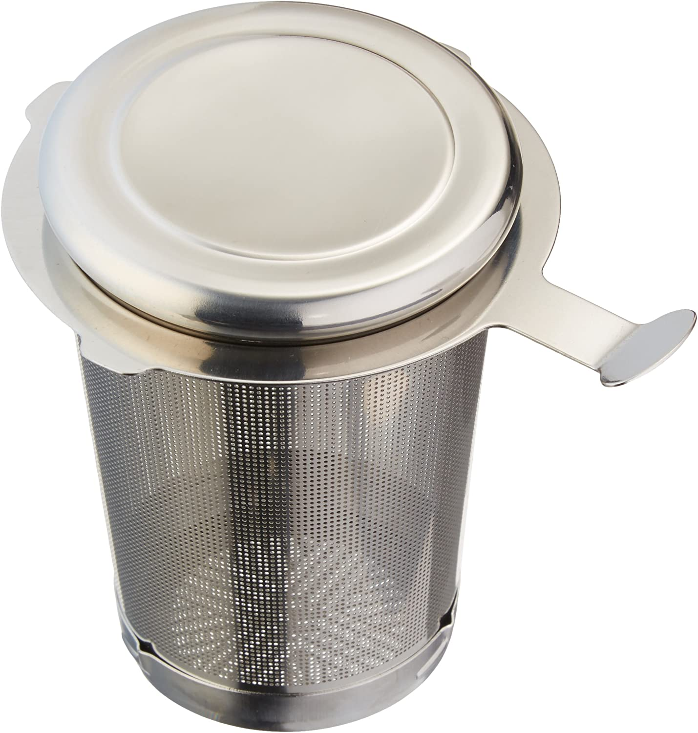"""Frieling USA 3"""" Easy Clean Tea Infuser with Removal Bottom, Medium, Silver"""