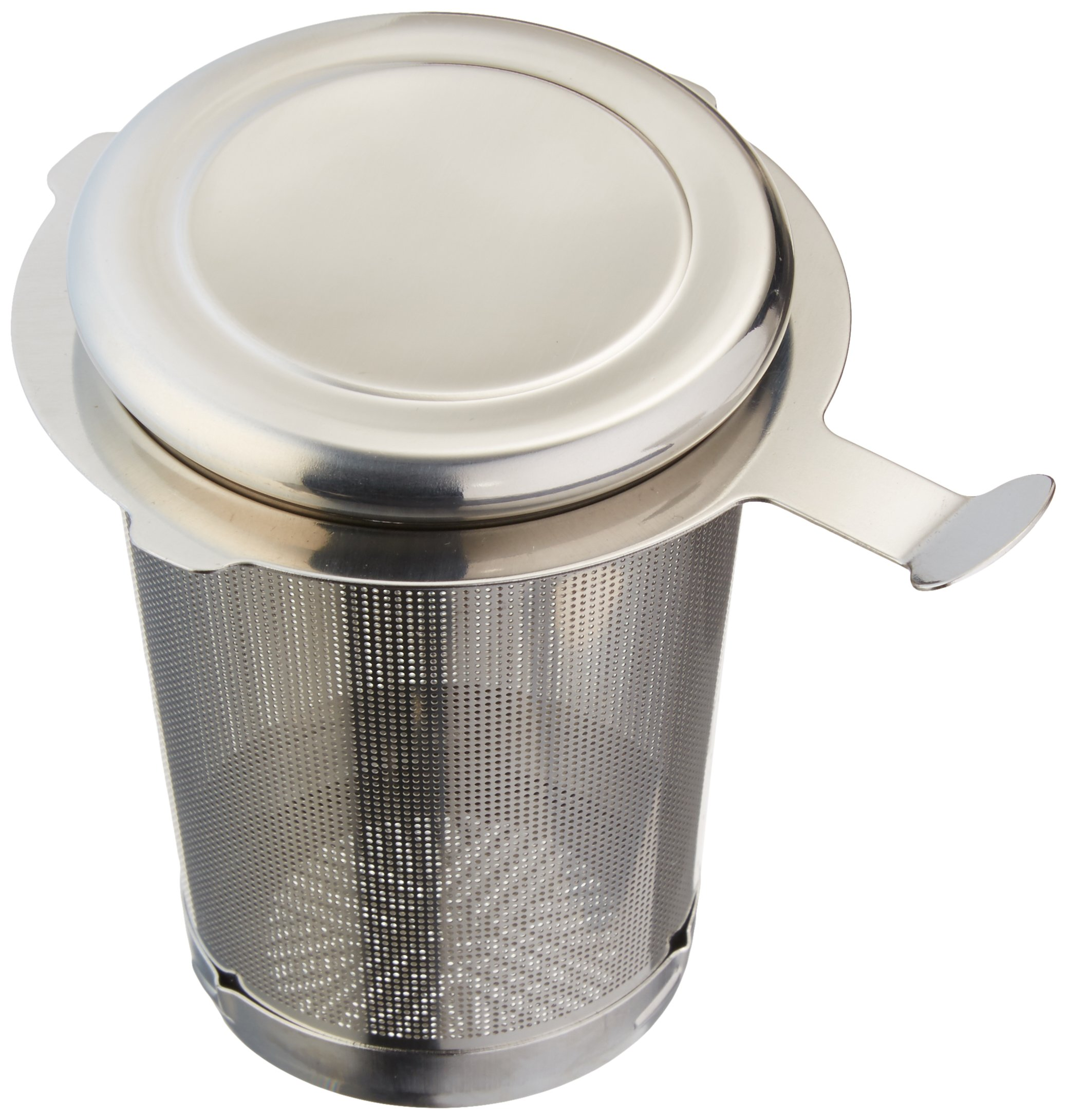 Frieling USA G2041 3'' Easy Clean Tea Infuser with Removal Bottom, Medium, Silver