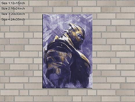 HD Print Oil Painting Decor Art on Canvas Superheroes Batman 24x36inch Unframed