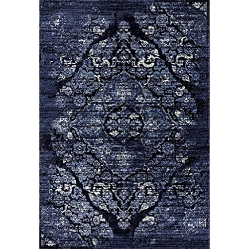 Navy Blue Area Rug 5x7 Amazon Com