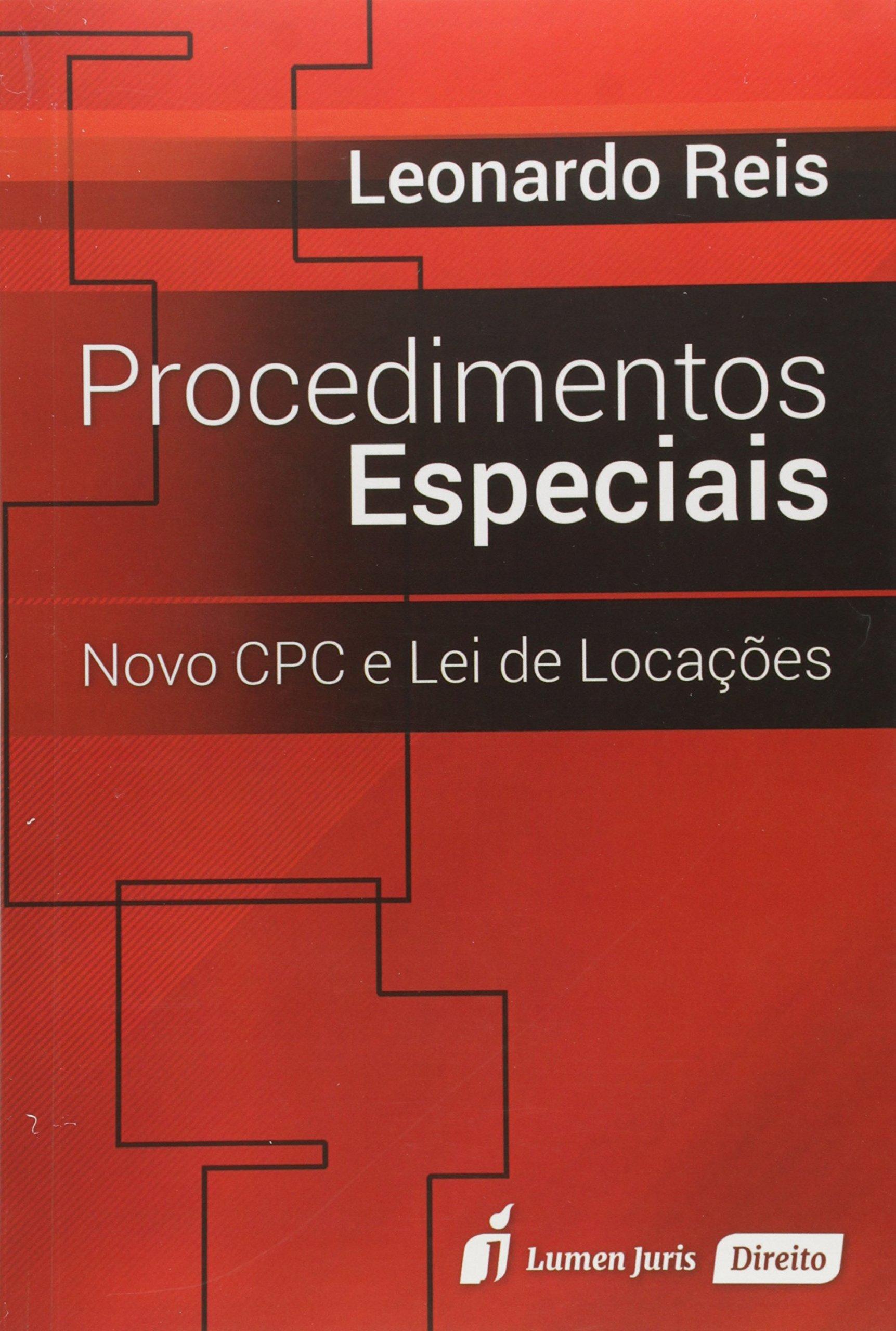 Procedimentos Especiais: Novo Cpc e Lei de Locacoes PDF