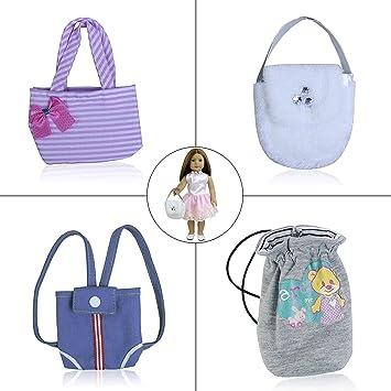 Puppen & Zubehör Puppenzubehör TASCHE für Puppen Kleidung & Accessoires