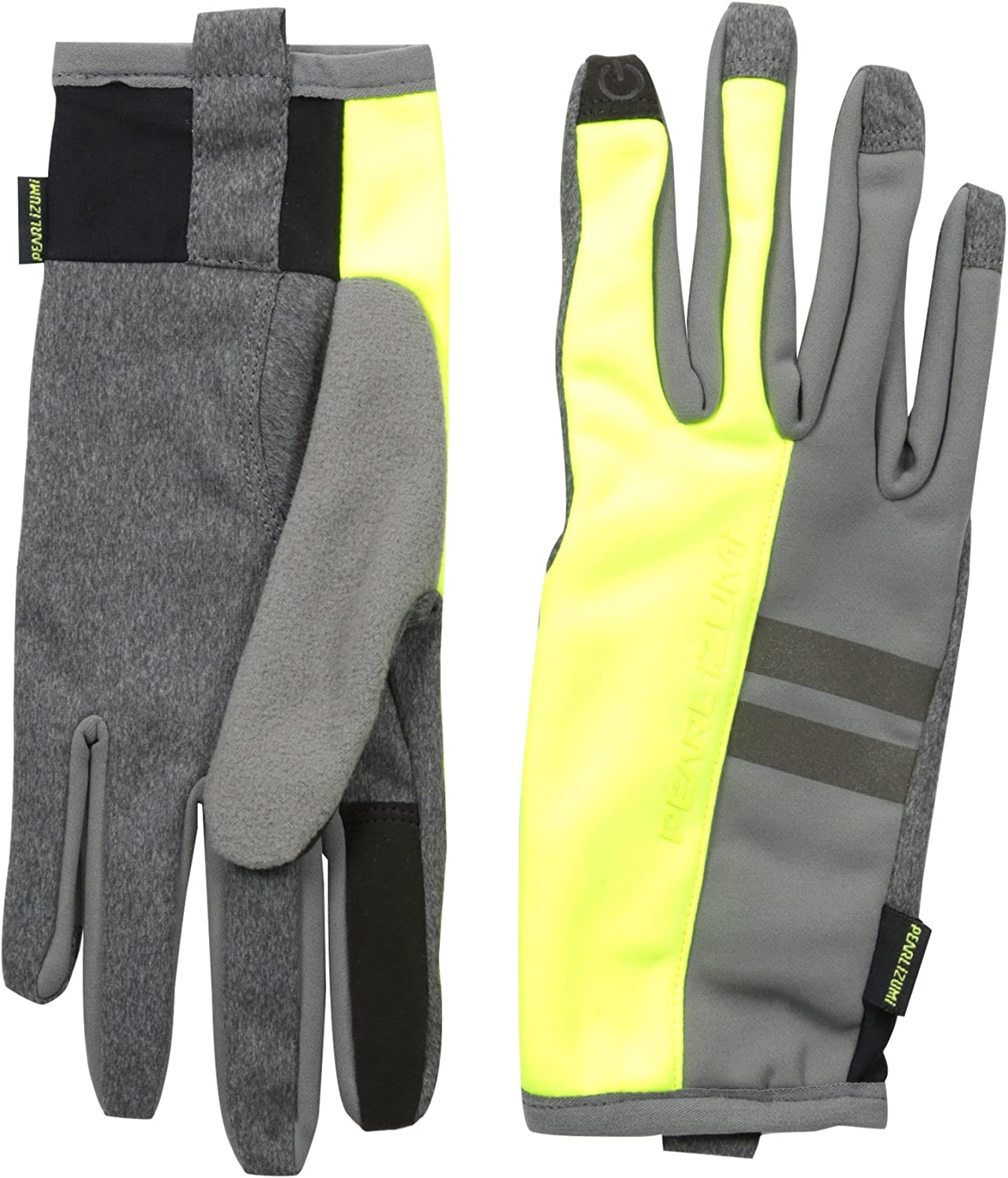 Pearl iZUMi Mens Escape Thermal Gloves Large Screaming Yellow