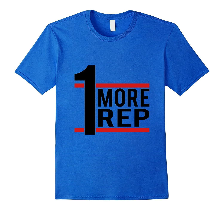 1 More Rep - Bodybuilder T-shirt-TD