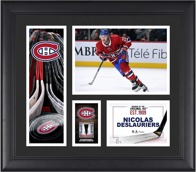 promo code cefa2 a0c2b Amazon.com: Nicolas Deslauriers Montreal Canadiens Framed 15 ...