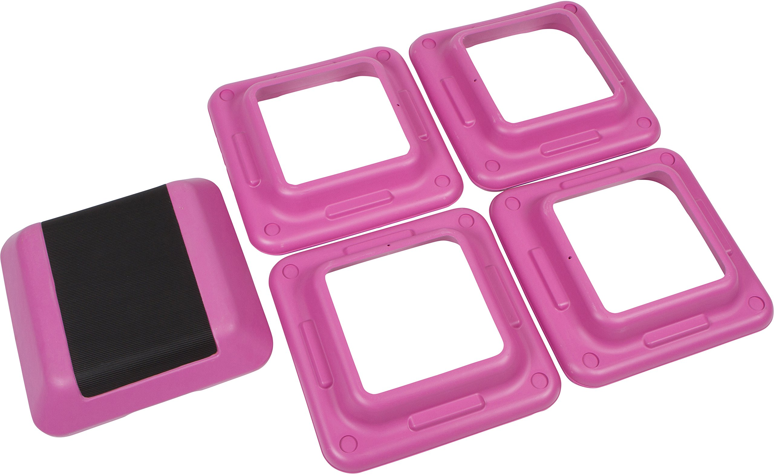 Trademark Innovations High Step Work Out Training Device, Pink, 16 x 16-Inch