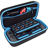 TAKECASE Hard Shell Carrying Case - Protective Case Compatible with Nintendo Switch - Fits Extra Controllers and 19 Game…