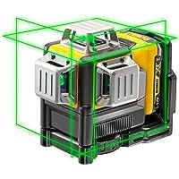 Dewalt Lijnlaser (zelfnivellerende 3x360°,10,8V, 2Ah, handmatige modus vanaf 4° (knippermodus), werkbereik: 30M (60M met…