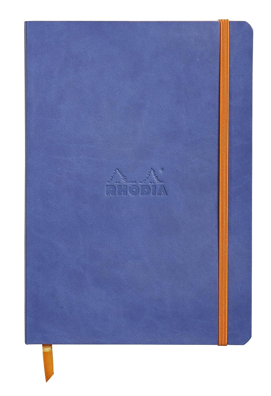 Rhodiarama Dot 5.8X8.3 inch Sapphire Notebook