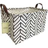HIYAGON Rectangular Storage Box Basket for Baby, Kids or Pets - Fabric Collapsible Storage Bin for Organizing Toys…