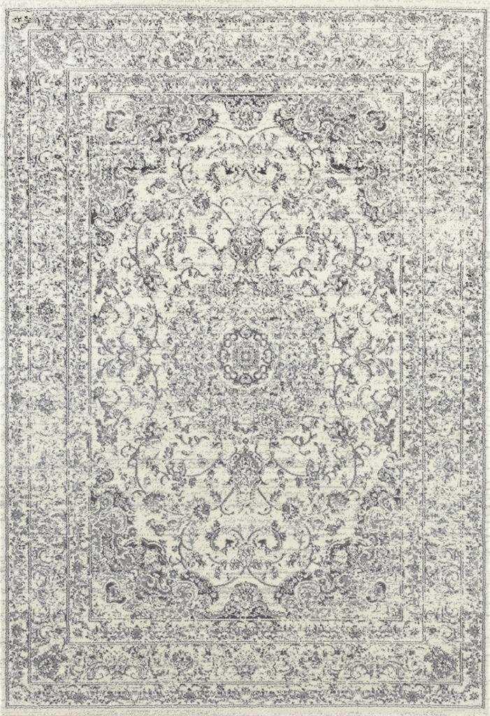 3212 Distressed Silver 5'2x7'2 Area Rug Carpet Large New
