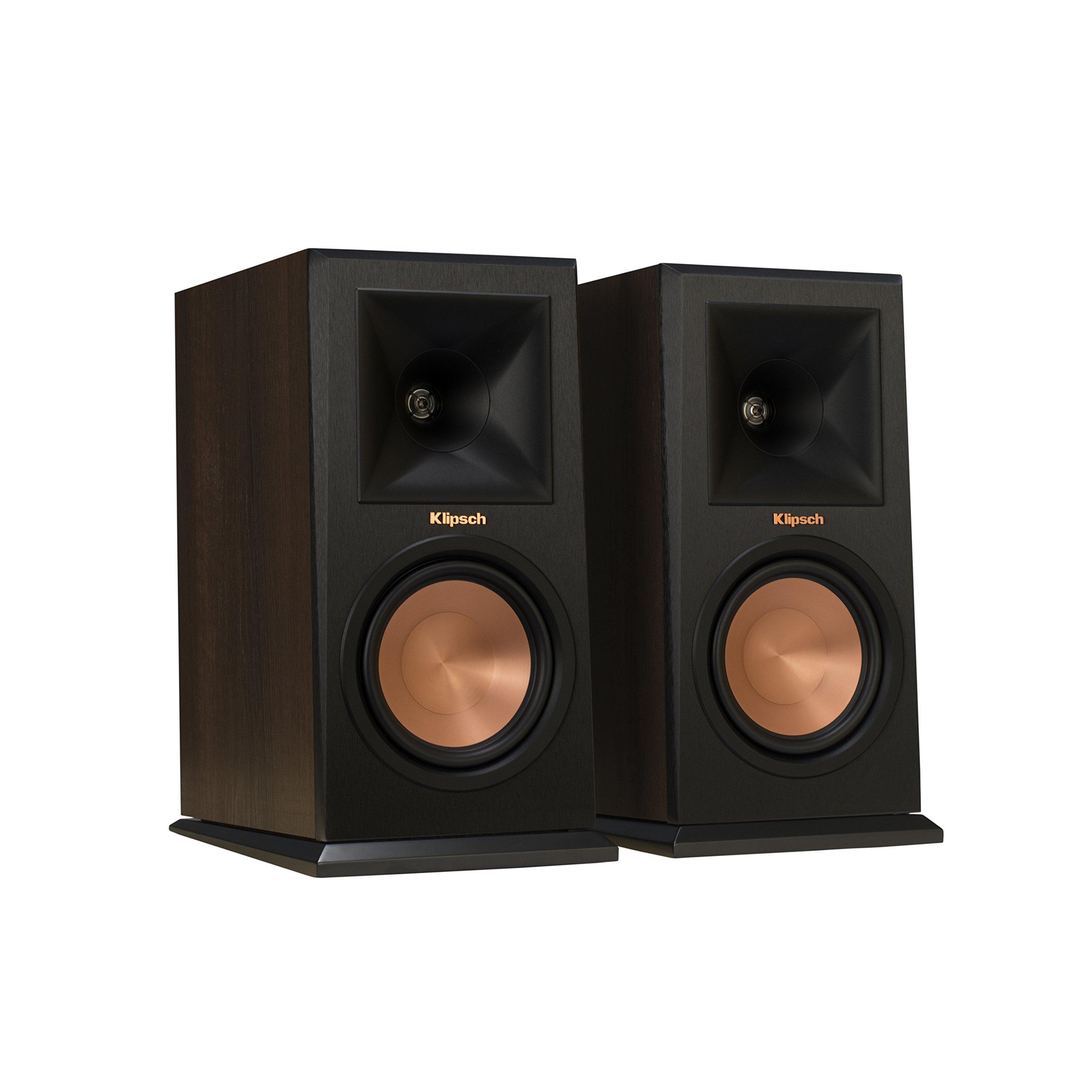 Klipsch RP-150M Walnut Bookshelf Speaker (Pair) by Klipsch