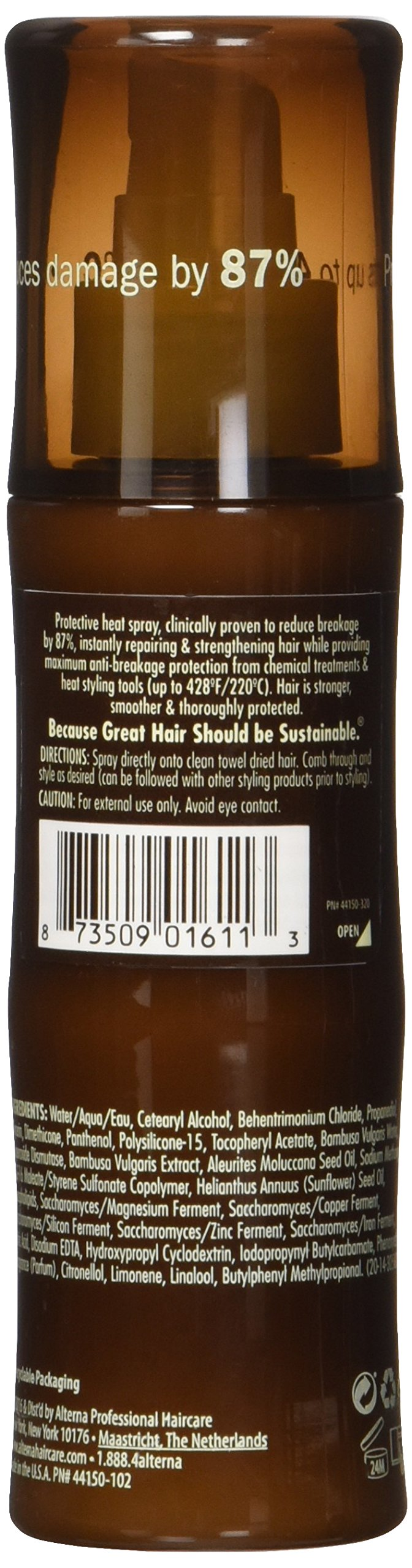 Bamboo Smooth Anti-Breakage Thermal Protectant, 4.2-Ounce