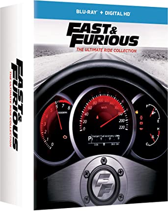 Amazon.com: Fast & Furious: The Ultimate Ride Collection ...
