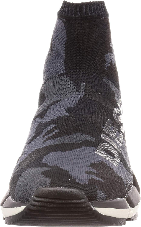 Diesel Mens H-padola High Sock-Sneaker Mid