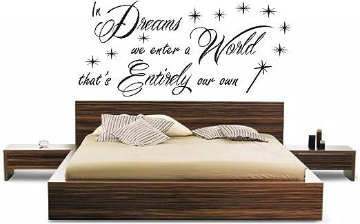 HARRY POTTER DREAMS WORLD FS CHILDREN QUOTE FILM BOOK WALL ART STICKER DIY HOME