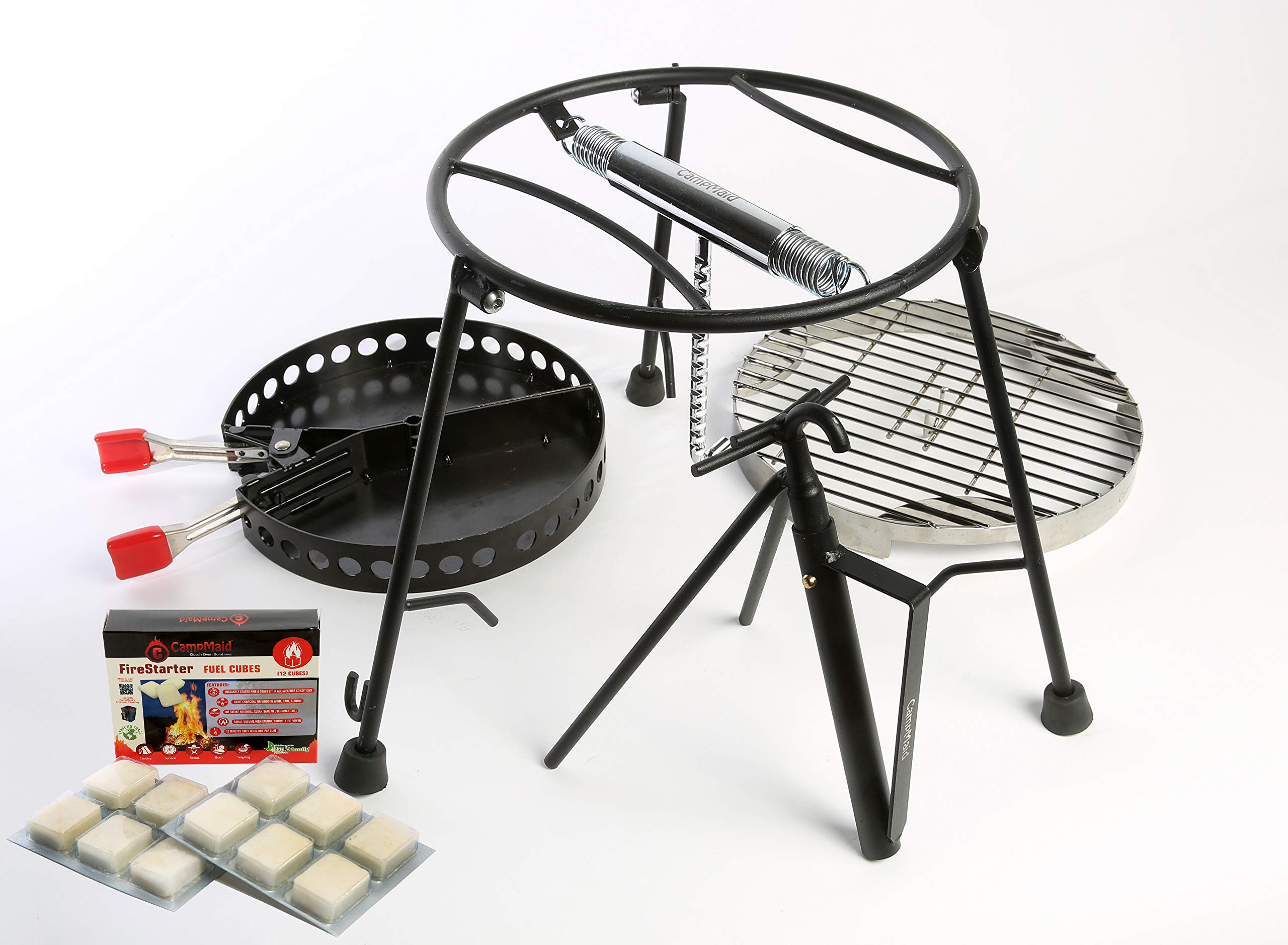 CampMaid Deluxe Dutch Oven Tool Set (4 Piece)