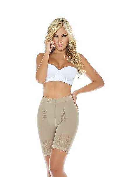3c412f00b0300 Amazon.com  ShapEager Women s Skin Care Body Shaper Butt-Lift Panty Faja  Colombiana Bodysuit  Clothing