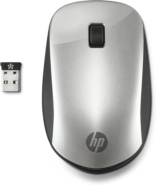HP Z4000 RF inalámbrico Ambidextro Plata - Ratón (Ambidextro, RF inalámbrico, 94 g, Plata)