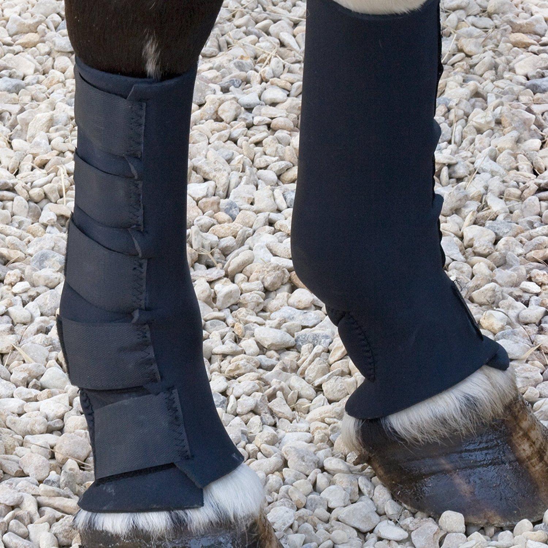 Chaussettes de boue pour cheval Shires et bottes de pluie pour poney en néoprène pour éviter la fièvre de boue SHIRES EQUESTRIAN