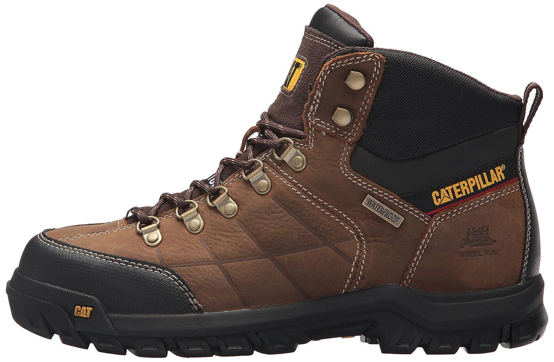 Caterpillar Mens Threshold Waterproof Steel Toe Industrial Boot