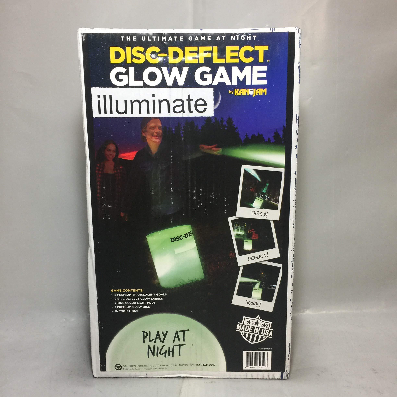Kan Jam Disc Deflect Glow Game Set by Kan Jam