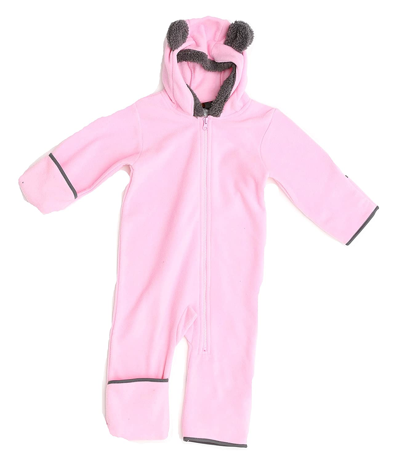 e898d4fe7 Amazon.com  Just Love Fleece Baby Girl Bunting Pram Snowsuit  Clothing
