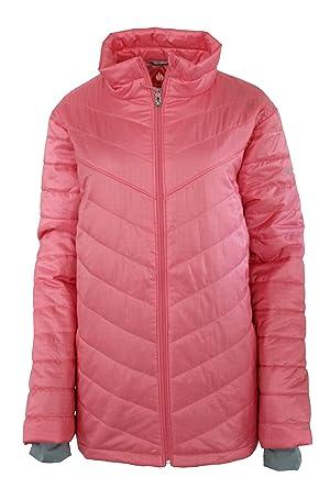 a0d83e9143ff Columbia Women s Plus Morning Light II Insulated Omni-Heat Jacket Lollipop  ...