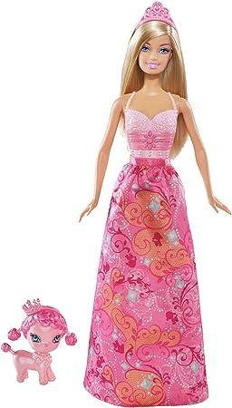 Barbie Princesse Et Son Chien Barbie Doll Amazonfr Jeux
