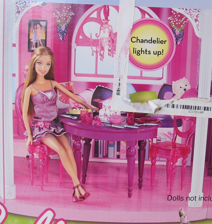 Amazon.com: Barbie 3 Story sueño Town House Playset Casa ...