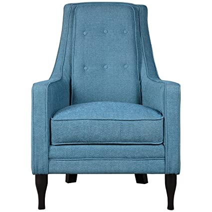 Fine Amazon Com Uttermost 23192 Katana Armchair Peacock Blue Dailytribune Chair Design For Home Dailytribuneorg