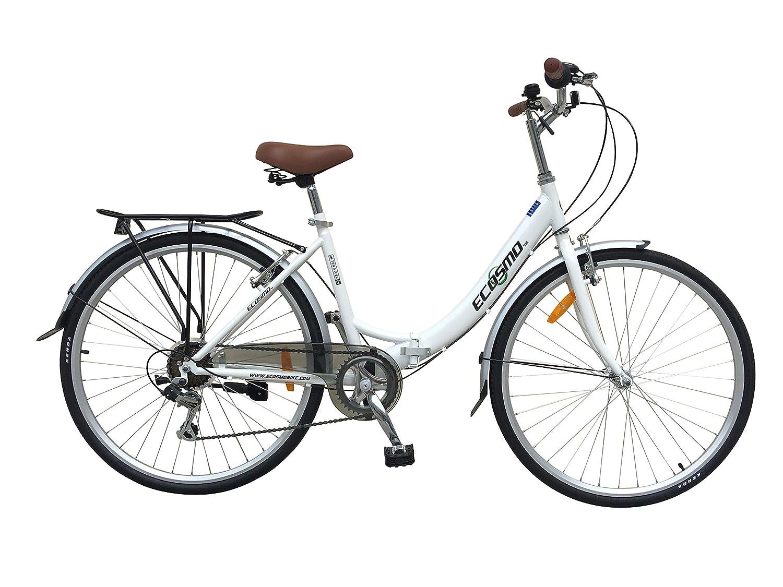 Ecosmo V/élo de ville 26/'/' pliable pour femme 7/SP Shimano 26ALF08W
