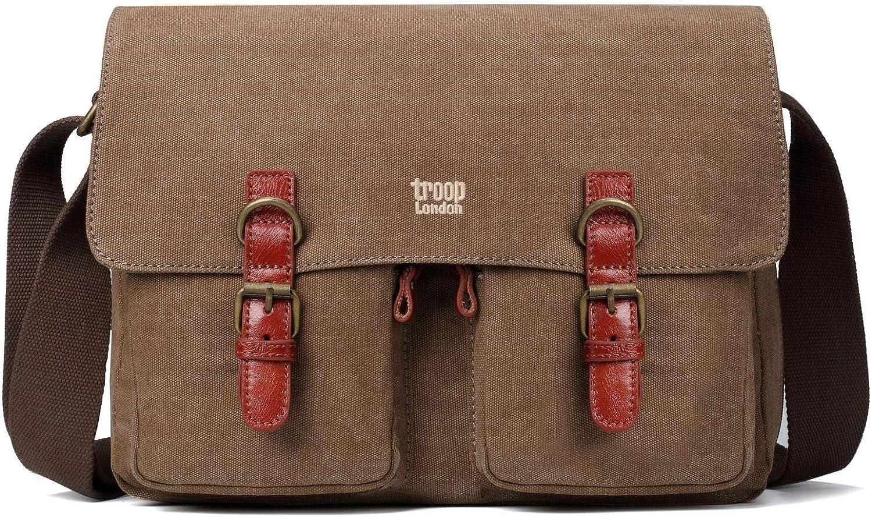 TRP0210 Troop London Classic Canvas Messenger Bag