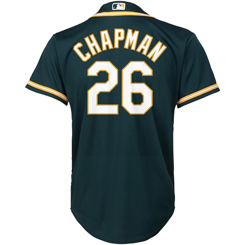 quality design 8a941 cfd72 Amazon.com: Matt Chapman Oakland Athletics #26 Green Youth ...