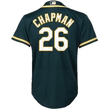 quality design 4de24 c1fcd Amazon.com: Matt Chapman Oakland Athletics #26 Green Youth ...