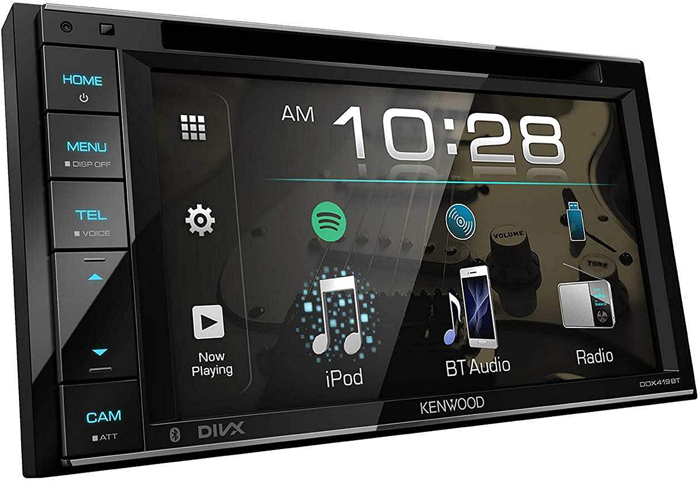 "Kenwood 6.2"" Double Din Touchscreen"