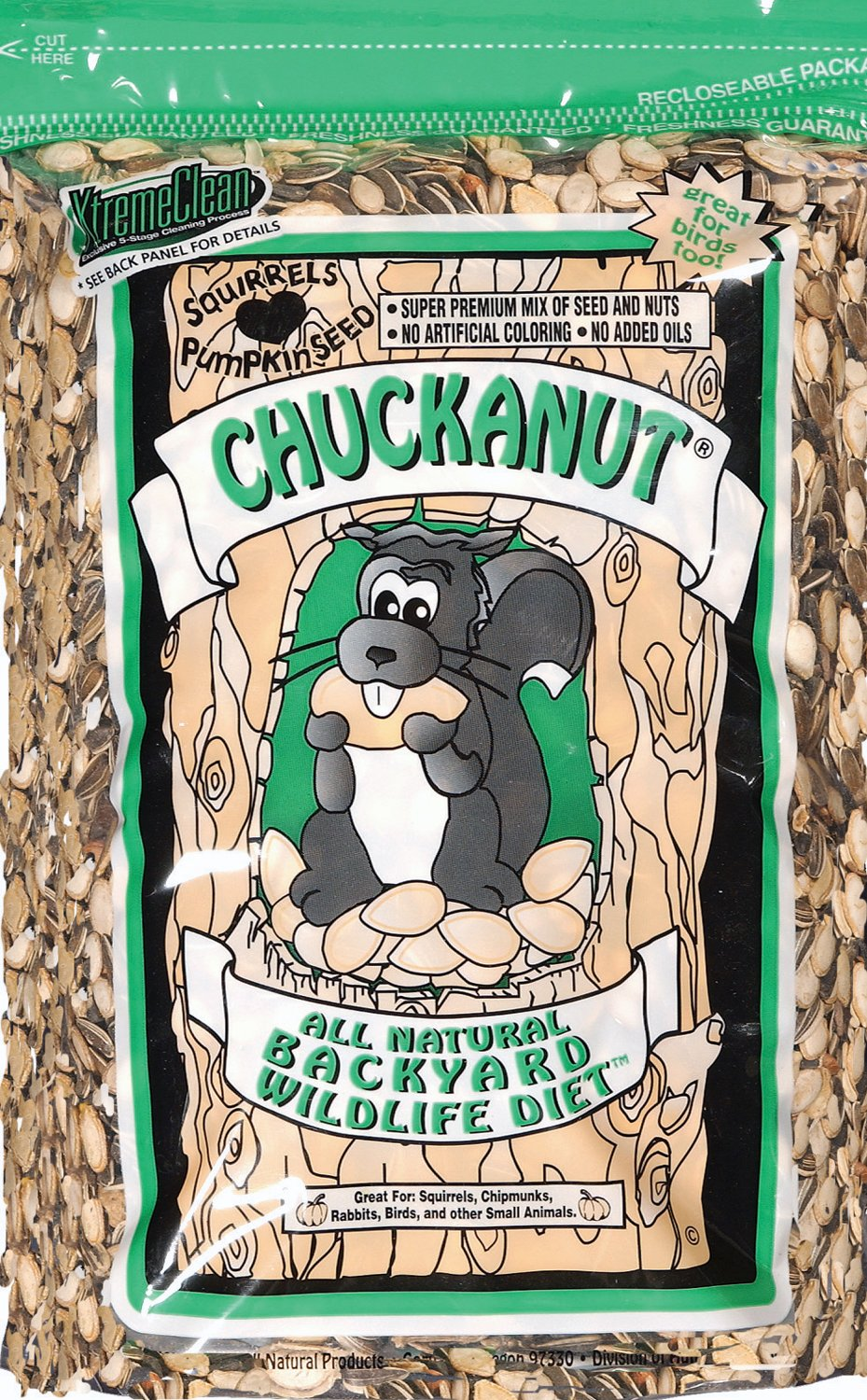 Chuck-A-Nut CHUCKANUT Products VSD-012027 Backyard Wildlife Diet by Chuck-A-Nut