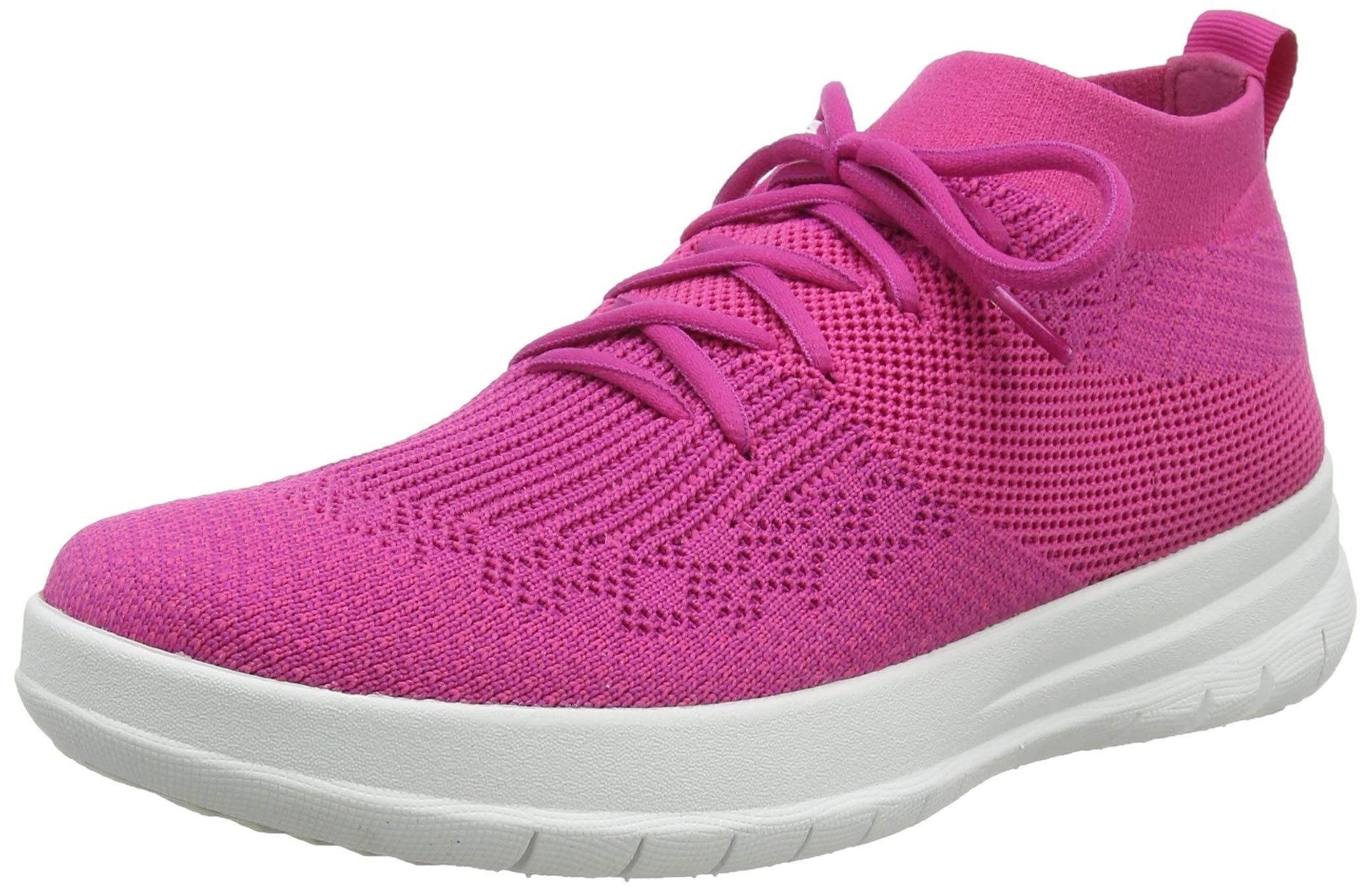 d52eab7d6eb612 Galleon - FitFlop Women s Uberknit Slip-ON HIGH TOP Sneaker Hi Trainers