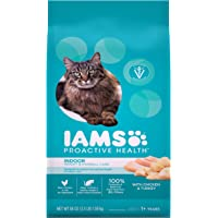 IAMs Proactive Health Dry Food for Cats - Indoor Weight & Hairball - 1.59kg
